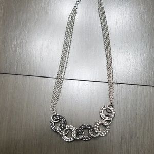 Lia Sophia circle accent necklace